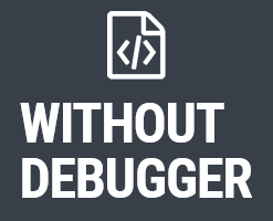 Without Debugger